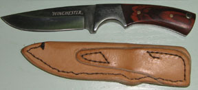 Custom Leather Knife Sheaths from Hopson Leather